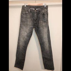 Burberry grey jean 32 waist